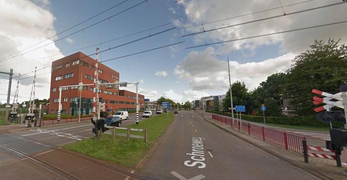 De Schroeweg in Middelburg; op de weg vielen bij 3 ongevallen in 2015 in totaal 3 gewonden.