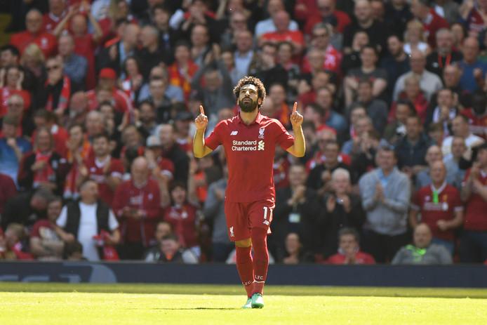 Mohamed Salah, middenvelder bij Liverpool.
