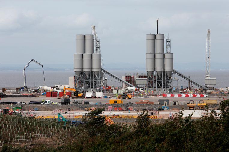 Britse kerncentrale Hinkley Point in Somerset, in aanbouw. Beeld Hollandse Hoogte