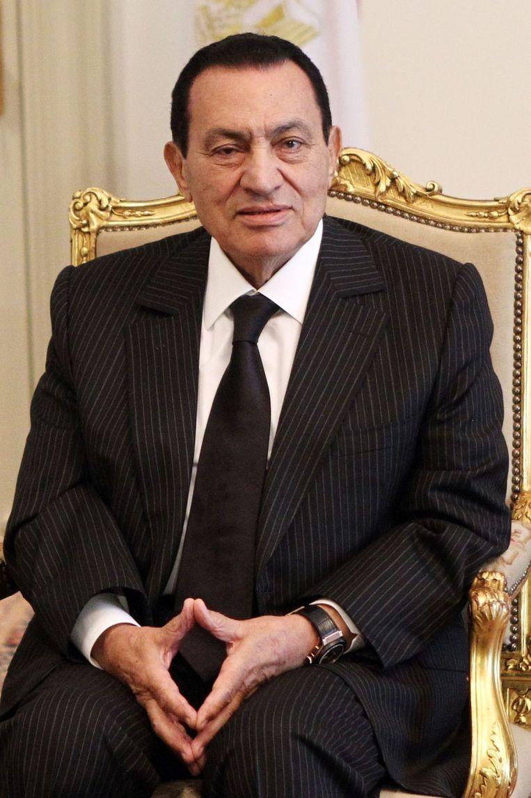Mubarak in 2010. Beeld afp