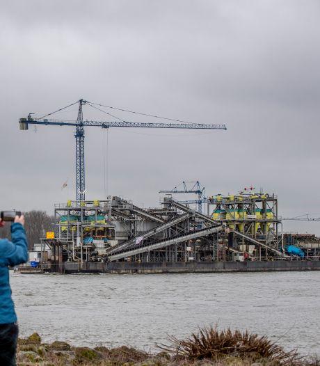 Dekker maakt drijvende zandfabriek fluisterstil en duurzaam