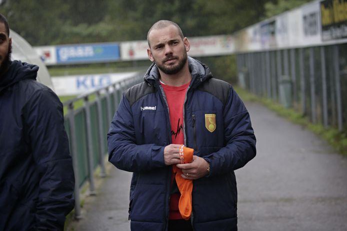 Wesley Sneijder is begaan met het lot van Achilles'29.