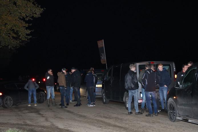Tientallen boeren hebben zich gemeld in Beers