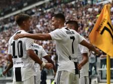 Ronaldo bezorgt Juventus winst met zijn eerste twee treffers
