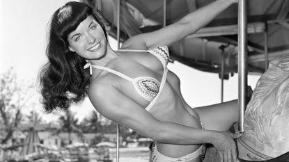 Bettie Page, de pin-up die op het hoogtepunt van haar roem van de aardbol verdween