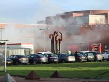 Gebied rondom gevangenis Zutphen groots afgezet voor onderzoek na brand in transportbusje