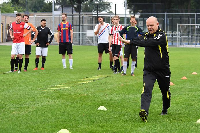 Ruud Vermeer tijdens een training.