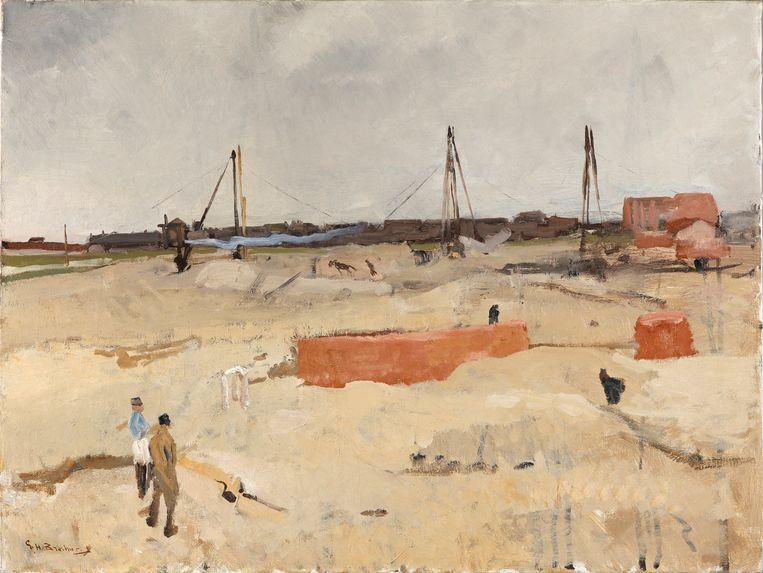 George Hendrik Breitner, De stormhoogte. Beeld Kunstmuseum Den Haag.