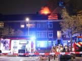 Grote brand aan Rederijkerstraat in Den Haag