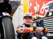 Na een vliegende start - letterlijk - aast motorcoureur Collin Veijer (15) uit Staphorst op een topklassering in de Rookies Cup