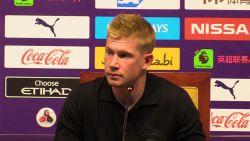 """Volgt De Bruyne Kompany op als kapitein van Man City? """"Als het team dat wil, graag"""""""