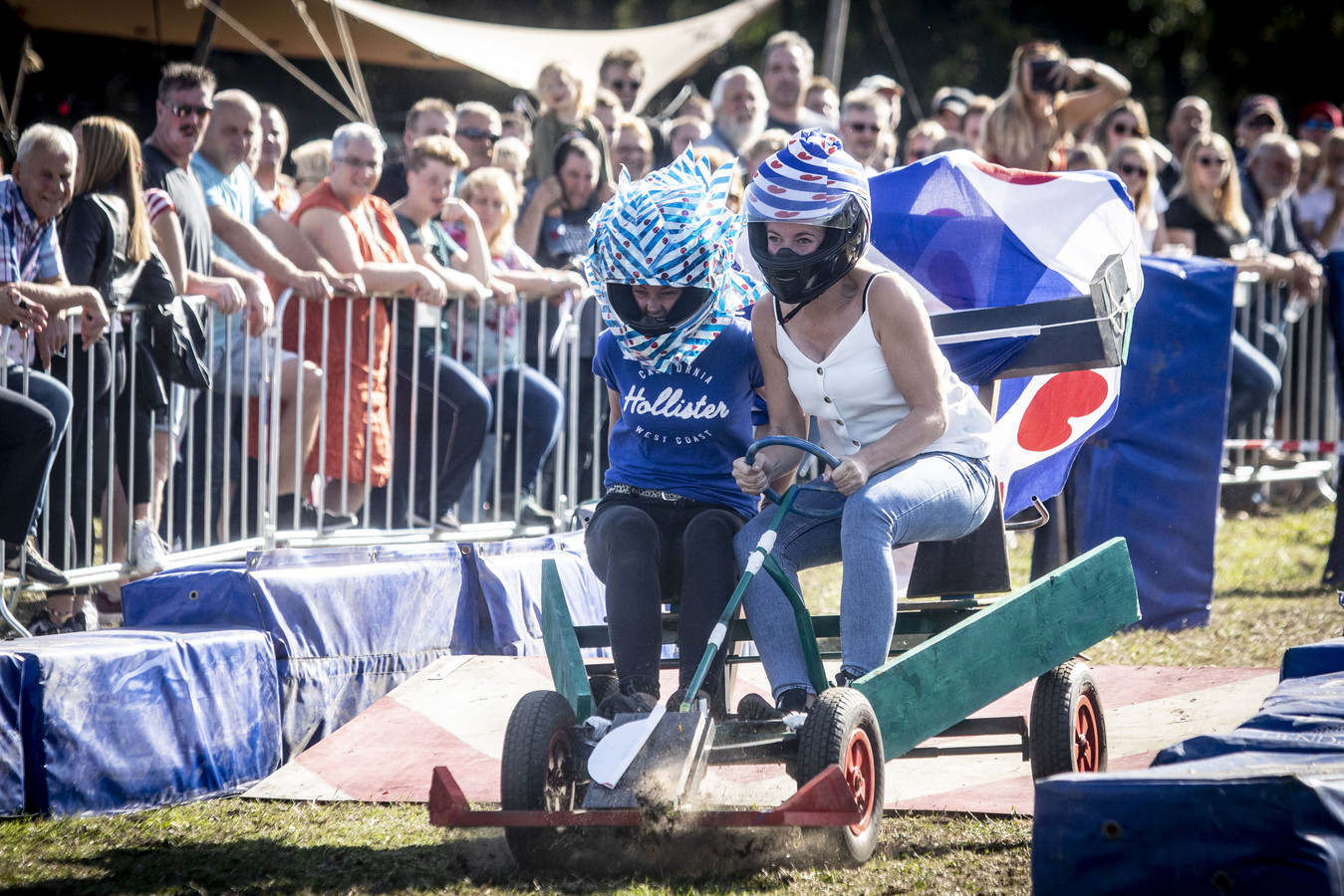De Friese deelname kwam deze zaterdagmiddag uit Oudega.