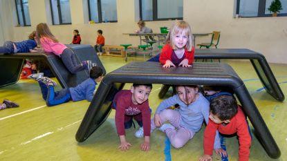 Mobiele speelbox geeft jonge kinderen vrij spel