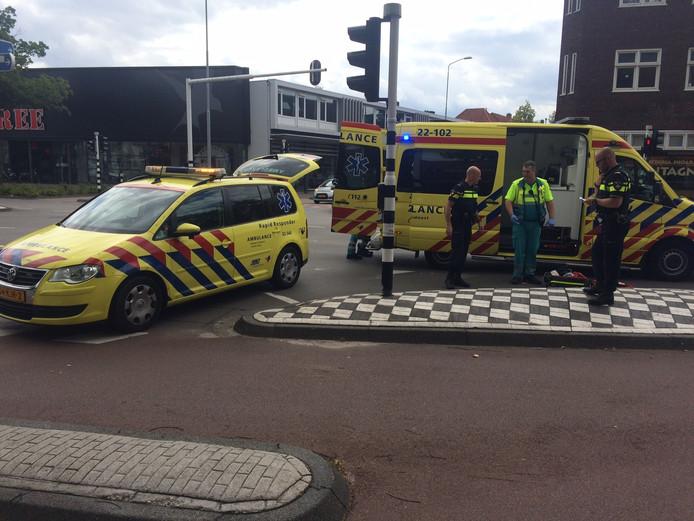 Ongeval op Mauritsstraat