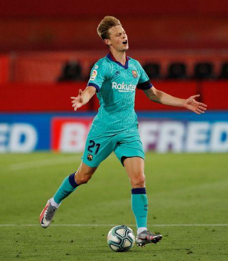 De Jong ziet ook duel met Villarreal aan zich voorbij gaan
