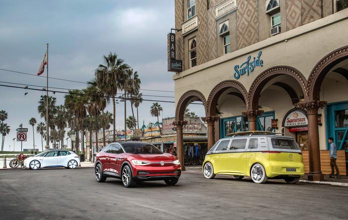 De drie modellen waarmee Volkswagen zijn elektrisch offensief begint