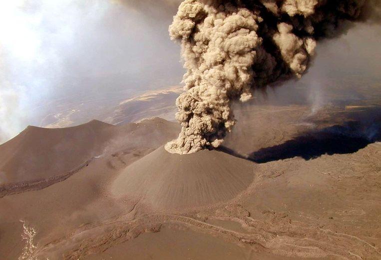 De Etna in 2001 Beeld epa