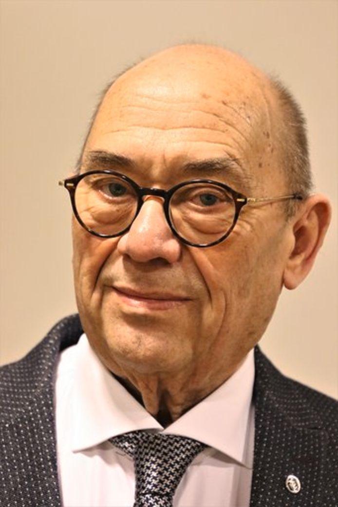 Ad Vos, tot 1 juli voorzitter van Alzheimer West-Brabant.