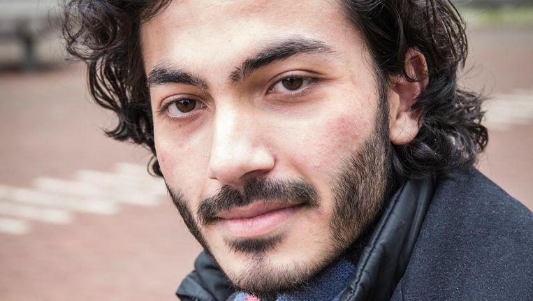 Emre Demirkiran (24): 'Leefbaarheid in de stad vind ik belangrijk.' Beeld Dingena Mol