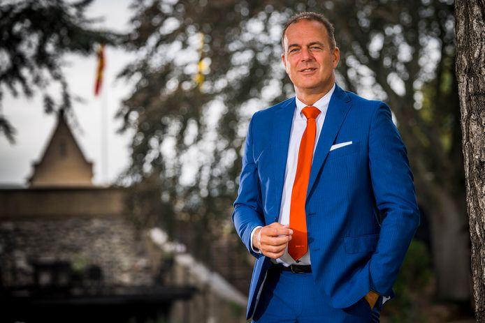 Burgemeester Jaap Paans (archiefbeeld).