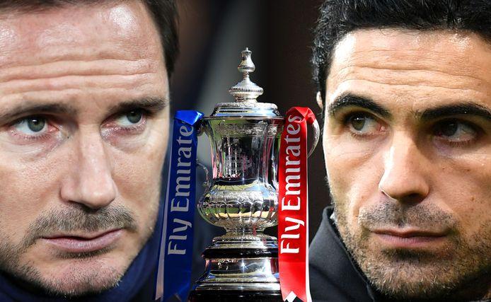 Frank Lampard (42) versus Mikel Arteta (38).