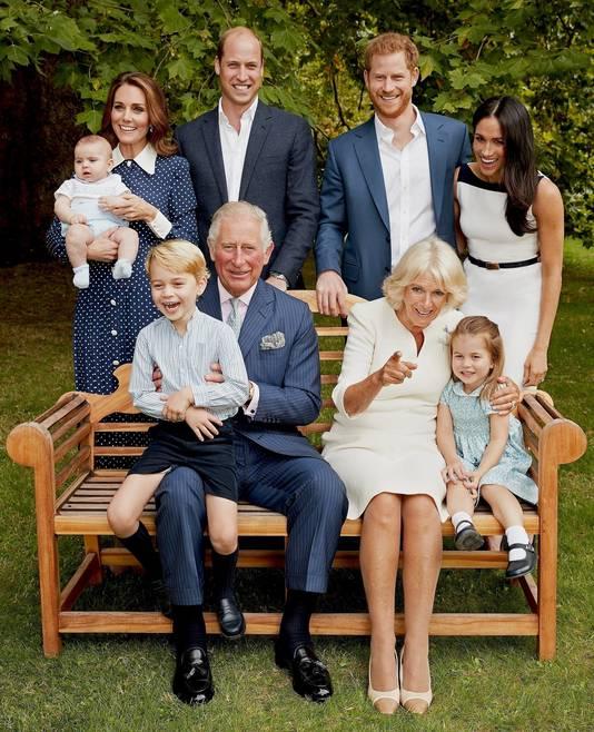 Portrait officiel du prince Charles, pour ses 70 ans.