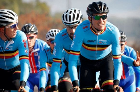 Vanmarcke, Boonen en Van Avermaet.