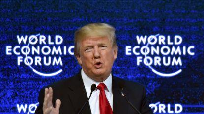 Trump houdt delegatie VS voor economische top Davos thuis wegens shutdown