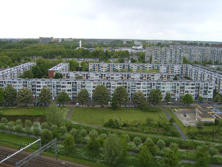 In Utrecht Overvecht vermengt de onderwereld zich steeds vaker met de bovenwereld. Beeld Wikipedia