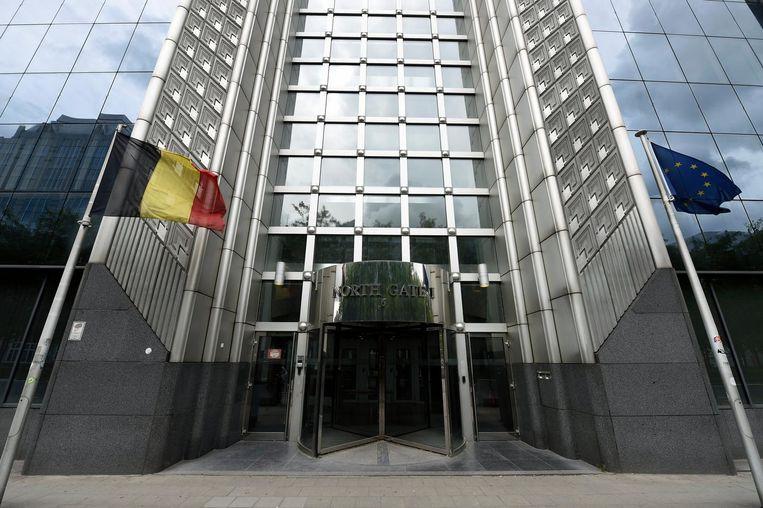 Le siège de la Sûreté de l'Etat à Bruxelles.