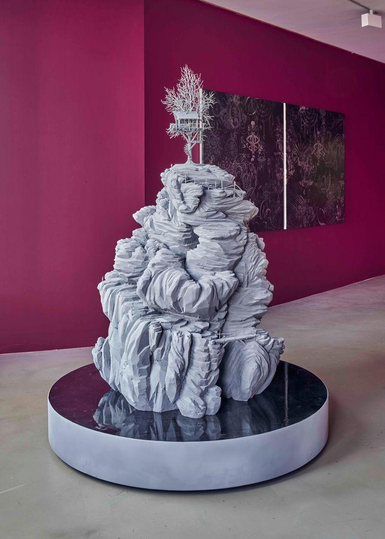 Hans Op de Beeck, Stargazing 2020, Beeld Courtesy of Galerie Ron Mandos