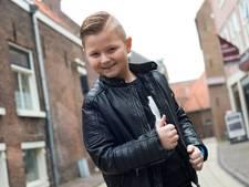 Piet (9) wil met hulp uit Nijkerk volkszanger worden