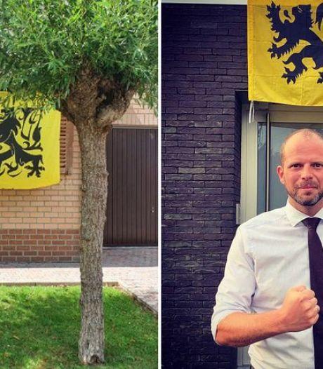 Theo Francken appelle à pendre le drapeau flamingant à sa fenêtre en guise de protestation