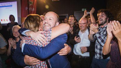 VIDEO: In Gent viert PVDA stijging met 3,9% in Sioux