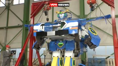 Échte Transformer gebouwd in Japan