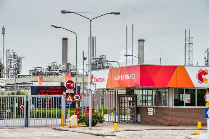 Het chemiebedrijf Chemours uit Dordrecht
