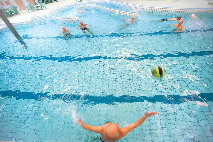 Zwembad De Hoorn in Alphen. Archiefbeeld