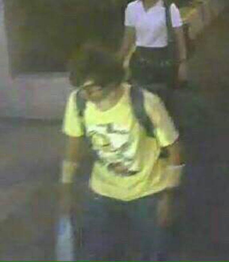 De verdachte van de bomaanslag in Bangkok. Beeld null