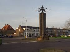 Stadsherstel; verwijder gouden bal van monument