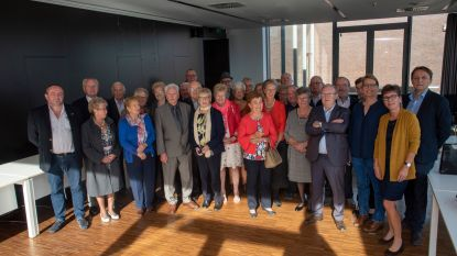 75-jarige inwoners vieren feestje in Wichelen