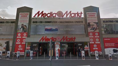 Inbraak bij Mediamarkt Schoten: gsm's, camera's en smartwatches gestolen
