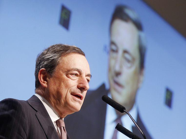 Mario Draghi, 21 november. Beeld ap