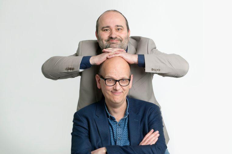 Stijn Fens & Christian van der Heijden. Beeld Maartje Geels