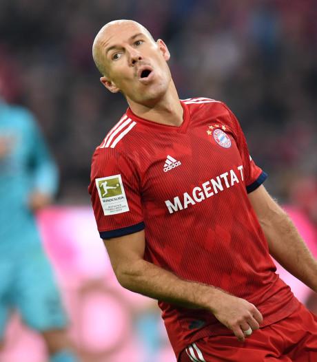Robben: Bayern nu niet goed genoeg voor de titel