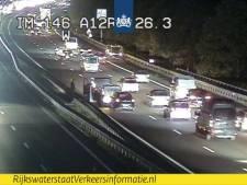 Files op A12 bij Arnhem na ongeval bij Knooppunt Grijsoord lossen op