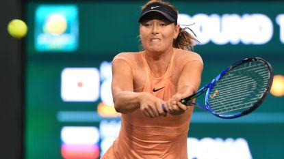 Maria Sharapova breekt met Nederlandse coach - Kyrgios op de sukkel met elleboog - Muguruza al uitgeschakeld in Indian Wells