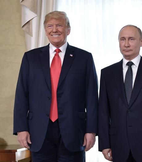 Trump over ontmoeting met Poetin:  ik versprak me