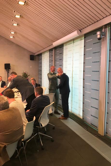 Wim Wouters geïnstalleerd als nieuwe burgemeester van Eersel