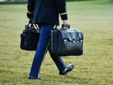 Trump neemt nucleaire tas mee naar Florida