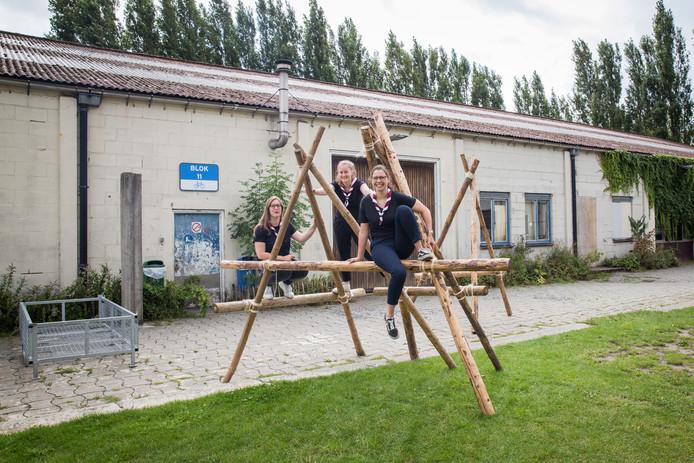 Door een samenwerking met de Stad Gent vonden De Kariboes een uitvalsbasis op de schoolsite van De Wingerd aan de Neermeerskaai.